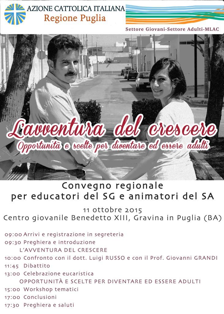 Manifesto Convegno Regionale Adulti-Giovani